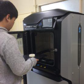 機械工学科 3Dプリンター
