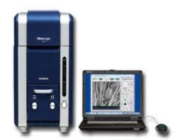 X線分析装置付走査型電子顕微鏡の写真