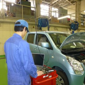 自動車工学科 診断