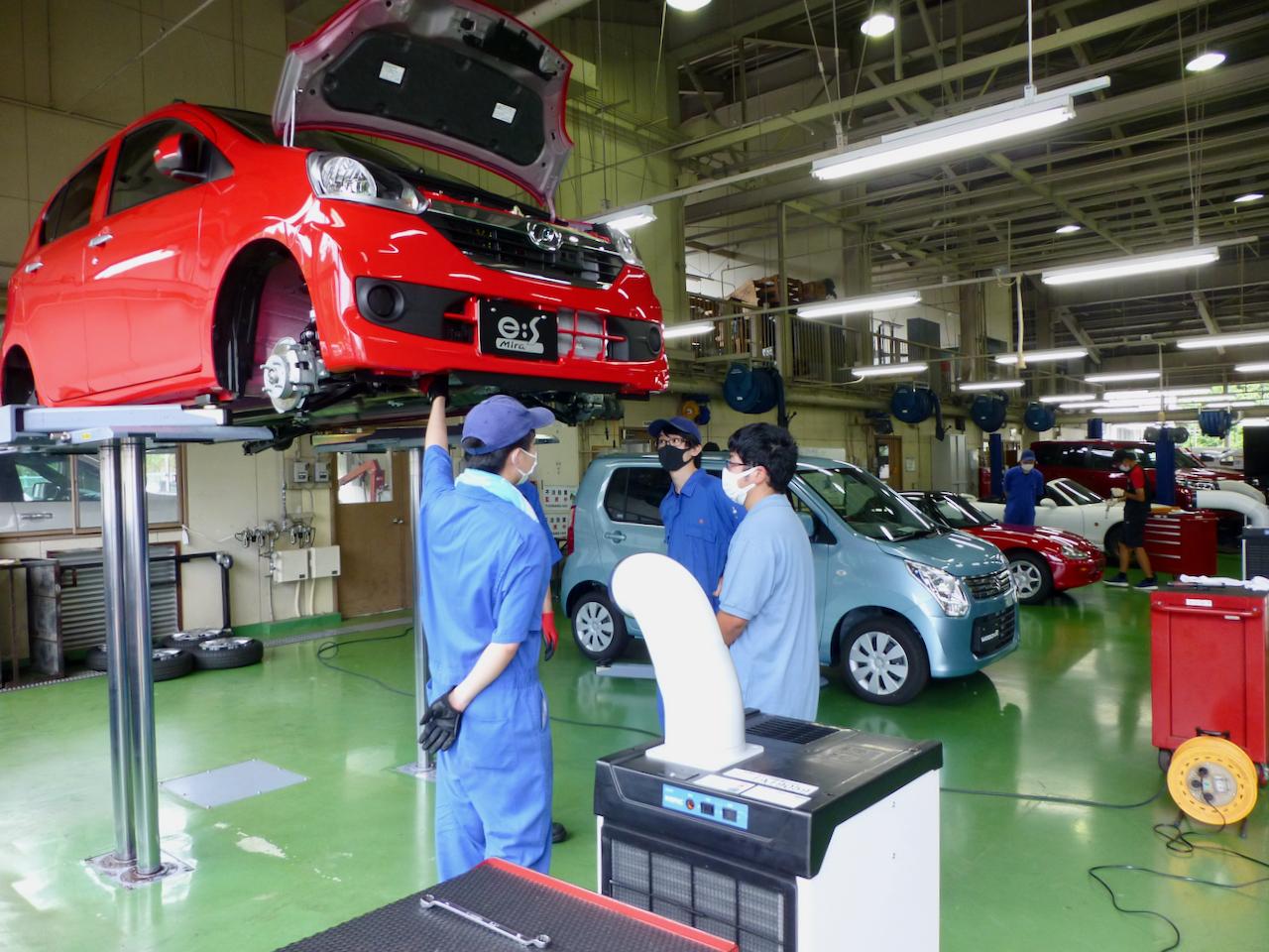 令和2年度オープンキャンパス 自動車工学科