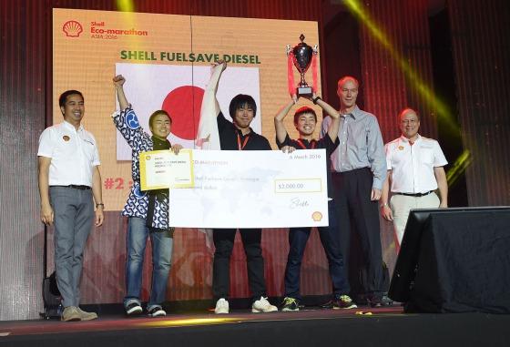 Shell Eco-marathon Asia 2016